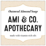 Apothecary Deluxe Square Label In Cappuccino