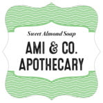 Apothecary Deluxe fancy square labels