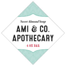Apothecary Deluxe diamond labels