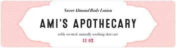 Apothecary Deluxe bottled water labels