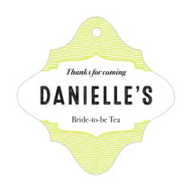Apothecary Deluxe fancy diamond hang tags