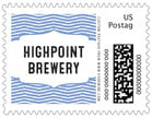 Apothecary Deluxe business postage stamps