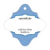 Apothecary Deluxe fancy diamond gift tags