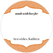Apothecary Deluxe large circle gift labels