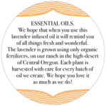 Apothecary Deluxe circle text labels