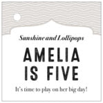 Apothecary Deluxe square hang tags
