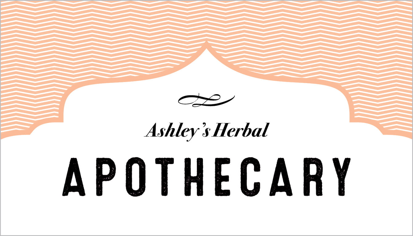 Apothecary | Deluxe | Custom | Peach | Card