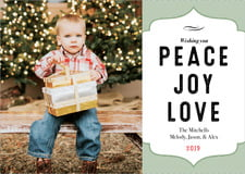 holiday cards - sage - apothecary deluxe (set of 10)
