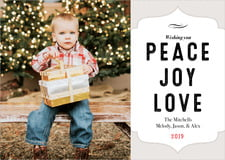holiday cards - stone - apothecary deluxe (set of 10)