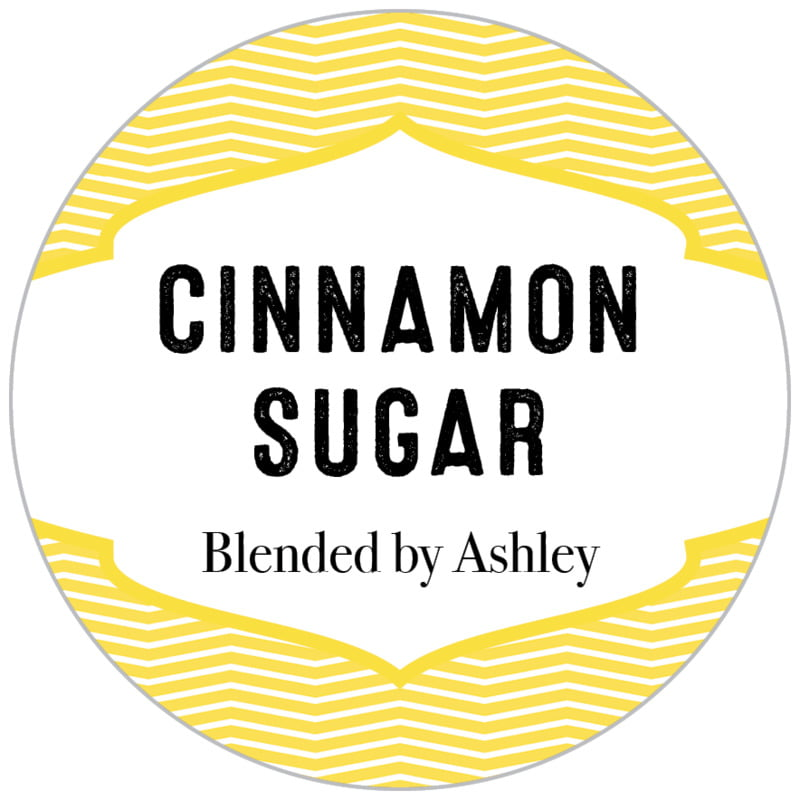 circle food/craft labels - lemon - apothecary deluxe (set of 35)
