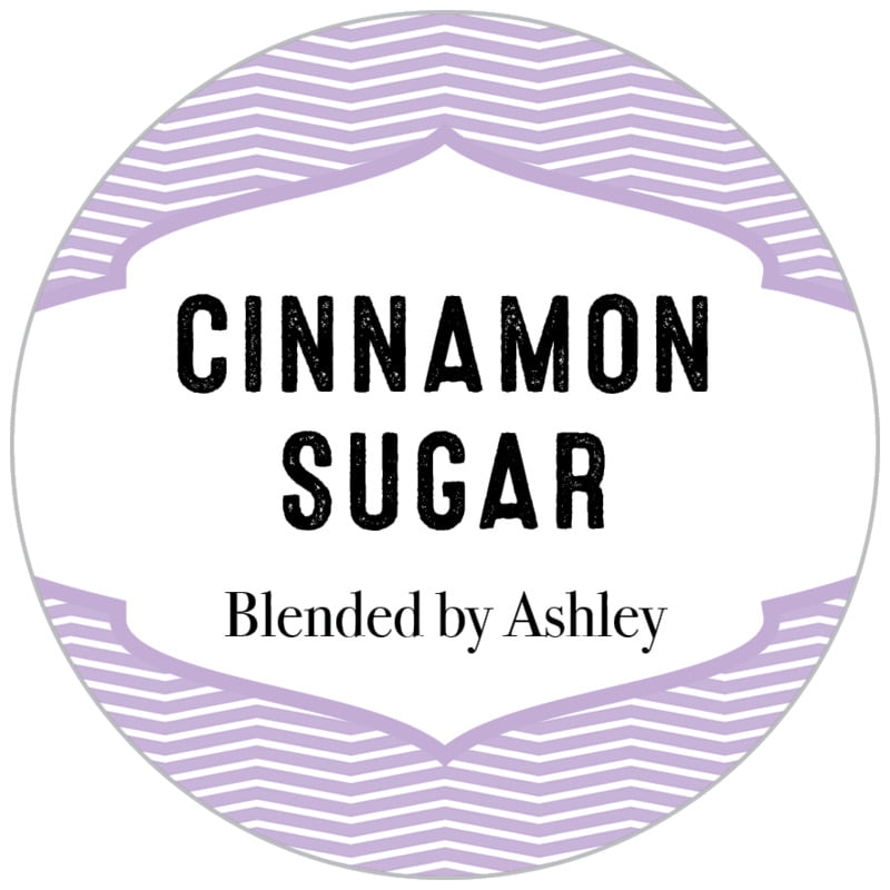 circle food/craft labels - lilac - apothecary deluxe (set of 35)