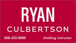 Ryan Condensed business cards