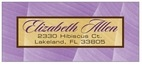 Bali designer address labels