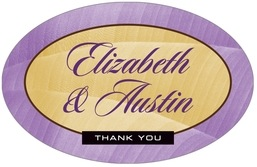 Bali large oval labels
