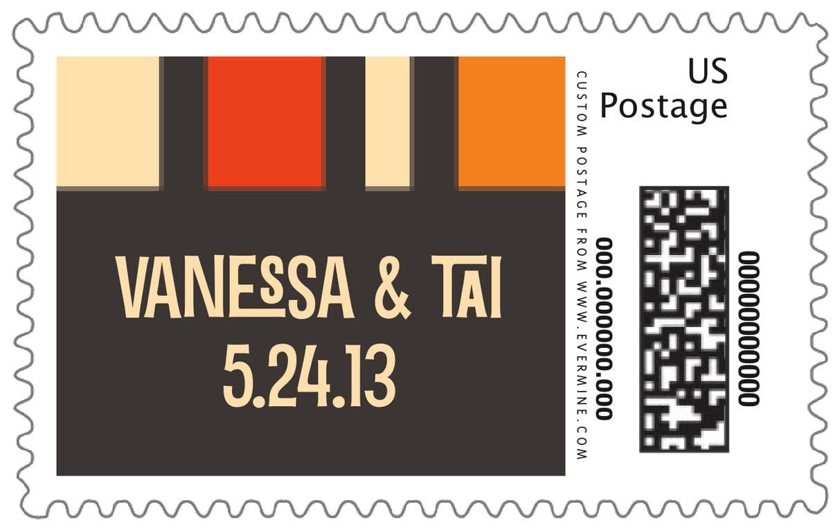 custom large postage stamps - spice - boxicle (set of 20)