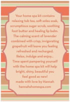 Bella Banded text labels
