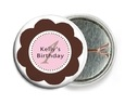 Bella pin back buttons