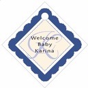 Bella small diamond hang tags