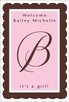 Bella tall rectangle labels