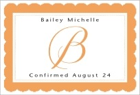 Bella wide rectangle labels