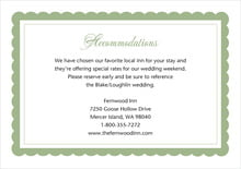 custom enclosure cards - sage - bella (set of 10)