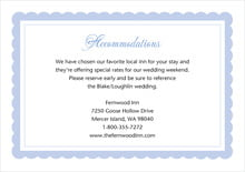 custom enclosure cards - periwinkle - bella (set of 10)