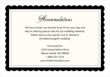 custom enclosure cards - tuxedo - bella (set of 10)
