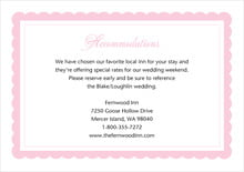 custom enclosure cards - pale pink - bella (set of 10)