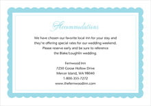 custom enclosure cards - bahama blue - bella (set of 10)