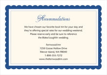custom enclosure cards - deep blue - bella (set of 10)