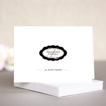 Bella wedding note cards