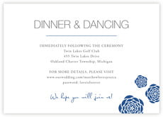Bouquet enclosure cards