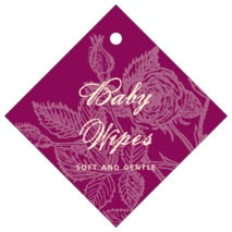 Briar Rose diamond hang tags