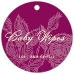 Briar Rose circle hang tags