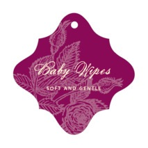 Briar Rose fancy diamond hang tags