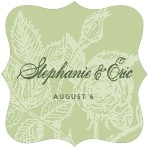 Briar Rose fancy square labels