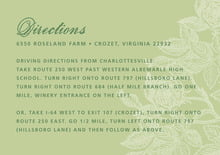 custom enclosure cards - green tea - briar rose (set of 10)
