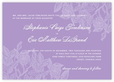 Briar Rose invitations