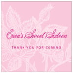 Briar Rose square labels