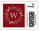 Botanical Monogram small postage stamps