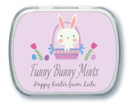 Bunny Mint Tin In Lilac