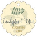 Bountiful Leaves scallop hang tags