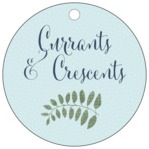 Bountiful Leaves circle hang tags