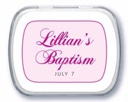 Bordeaux Mint Tin In Bright Pink