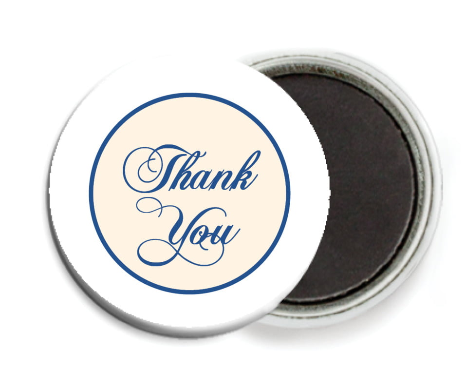 custom button magnets - deep blue - bordeaux (set of 6)