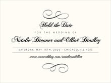 custom save-the-date cards - tuxedo - bordeaux (set of 10)