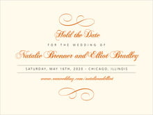 custom save-the-date cards - spice - bordeaux (set of 10)