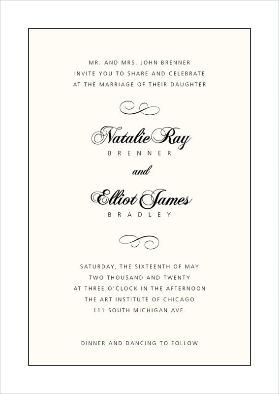 custom invitations - tuxedo - bordeaux (set of 10)