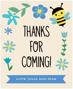 Bumble Bee large labels