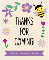 Bumble Bee food/craft labels